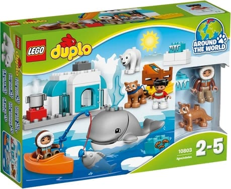 Lego Duplo Arctic - Lego Duplo Arctic - Built an igloo and discover the world of the animals.