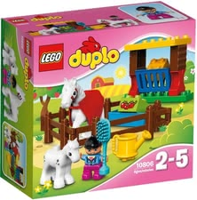 Lego Duplo horse - Lego Duplo horse – This toy provides a lot of fun to little fans of horses and barns.