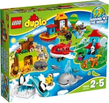 Lego Duplo Around the world - Lego Duplo Around the world – Travel around the world in next to no time with this set.