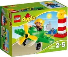 Lego Duplo Small Plane - Lego Duplo Small Plane – Get on a lot of exciting adventures with the Lego Duplo Small Plane.