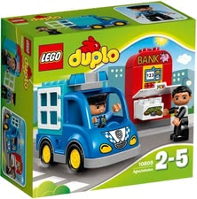 Lego patrouille de police - * Lego police patrol – The police patron hurries to the next operation and takes your little one along.