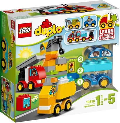 Lego Duplo My first vehicles - Lego Duplo My first vehicles – Being creative and building new vehicles again and again.