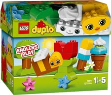Lego Duplo creative building set - Lego Duplo creative building set – Already the little ones can built their first artworks with this creative set.