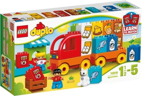 Lego Duplo My first truck - Lego Duplo My first truck – At an age of about 1 ½ years your little one can load up and unload the truck himself/herself.