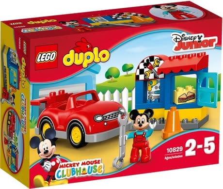 Lego Duplo Dinsey Mickeys garage - Lego Duplo Dinsey Mickeys garage – Visionary role plays will provide a lot of fun in Mickeys garage.