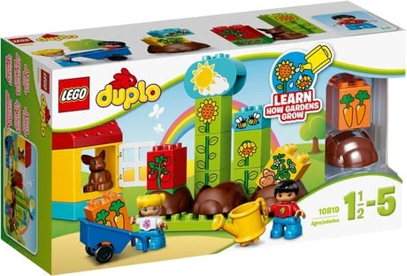 Lego Duplo My first garden - Lego Duplo My first garden – Plants can be planted and fostered and animals can be fed.