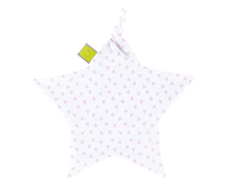 Zöllner Cuddle cloth Heart Pink 2017 - Image de grande taille
