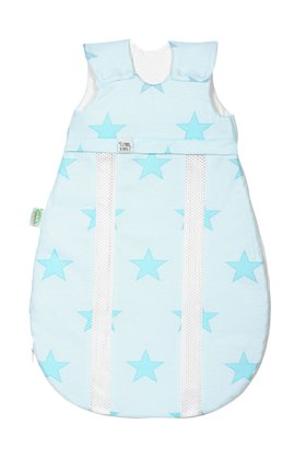 "Odenwälder baby nest Jersey sleeping bag ""soft ice cream"" applemint 2016 - large image"