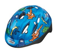 Abus bicycle helmet for children Smooty ocean - Abus bicycle helmet for children Smooty ocean – You child will be perfectly protected with this helmet Smooty. The colourful sea design is especially suitable for boys.