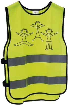Messingschlager Reflex-Warnweste für Kinder XXS/XS - With this reflective vest brass Schlager is your child safe in traffic on the road and is well seen by the reflective strips in the twilight.