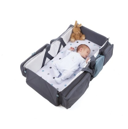 DELTA BABY – travel and carrying bag blau-grau 2017 - large image