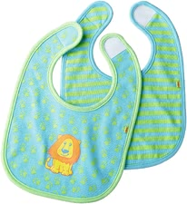 Haba bib set Lion Luis - Haba bib set Lion Luis – Little boys will like their mush even more with this bib.