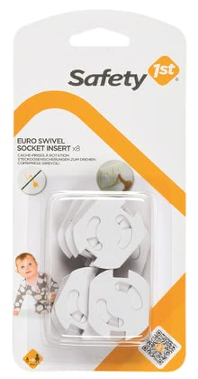 Safety 1st rotatable socket protector - Safety 1st rotatable socket protector – Make your flat childproof.
