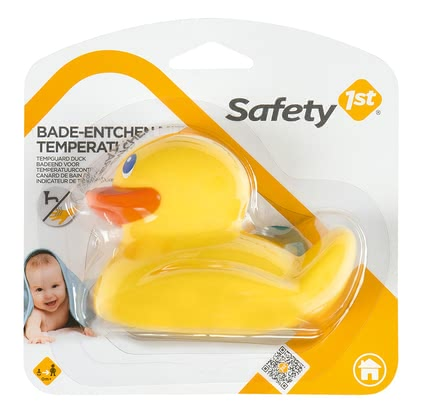 Safety 1st bath duck with temperature display – - Safety 1st bath duck with temperature display – The cute bath duck not only improves the mood, but also provides safety.