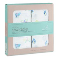 aden+anais Organic Swaddle cloths pack of 2