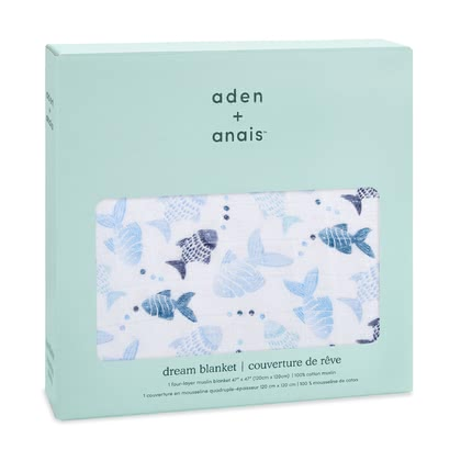 aden+anais Classic Dream Blanket мягкое одеяло - *