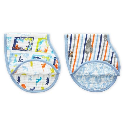 aden+anais Disney burpy bibs Jungle Book 2017 - large image