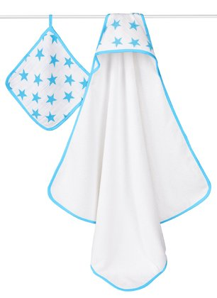 aden+anais 連帽浴巾組 - aden+anais hooded towel set – A must-have in every bathroom.