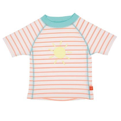 Lässig UV-Shirts Kurzarm Girls sailor peach - Großbild