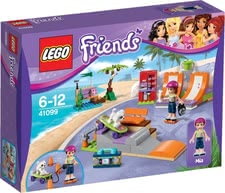 Конструктор Lego Friends 41099 Скейт-парк - *