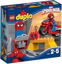 Lego Duplo Spiderman - Lego Duplo Spiderman – Small fans of Spiderman will be very happy about this toy.