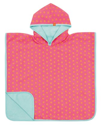 Lässig bathing poncho girls peach stars 2017 - large image