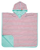 Lässig bathing poncho girls -  This bathing poncho is usable in several ways – as beach towel, mat or hooded shirt.