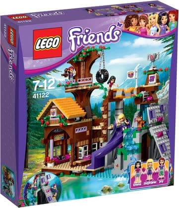 Конструктор Lego Friends Спортивный лагерь: дом на дереве -
