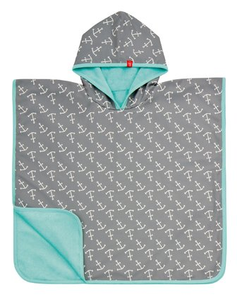 Lässig 男童游泳披风 -  This bathing poncho is usable in several ways – as beach towel, mat or hooded shirt.
