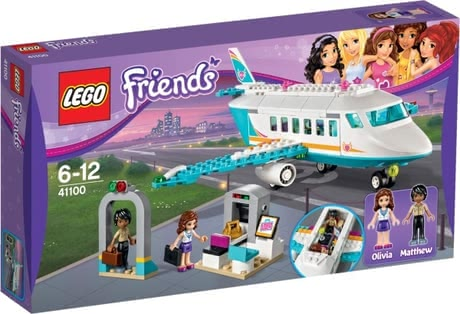 Lego Friends Heartlake jet - Lego Friends Heartlake jet – Take off and start your dream holiday with the luxurious jet by Lego.