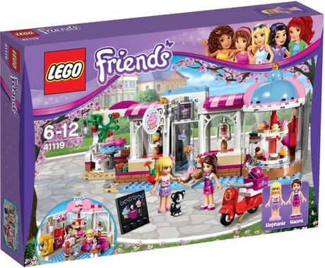 LEGO Friends Heartlake Cupcake Cafe 2017 - Großbild