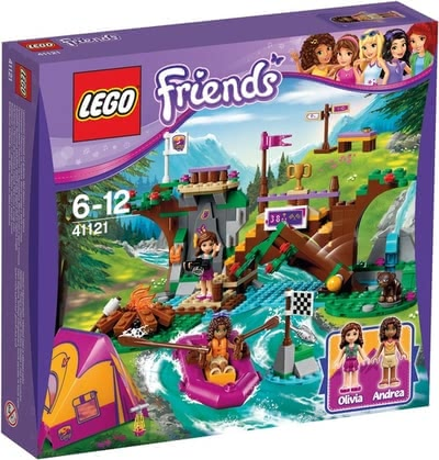 Lego Friends adventure camp Rafting - * Lego Friends aventure camp Rafting - Vivez jours passionnants avec Olivia et Andrea.