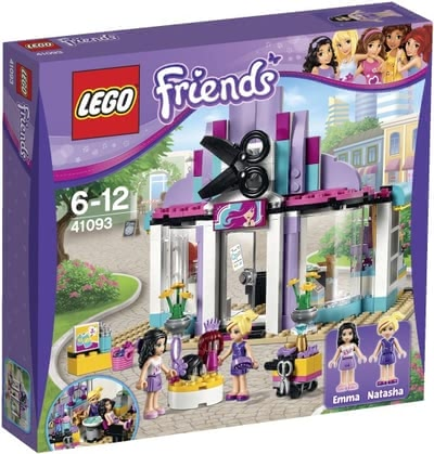 Lego Friends Heartlake hairdresser's shop - Lego Friends Heartlake hairdresser's shop – Especially little girls will get a little closer to their dream of owning a hairdresser's shop