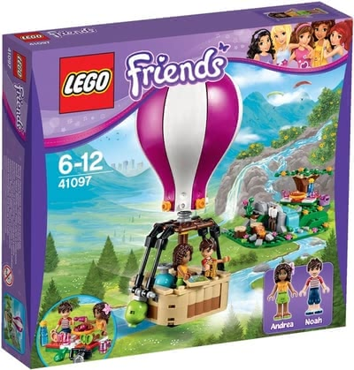 LEGO Friends Heartlake hot-air balloon 2016 - large image