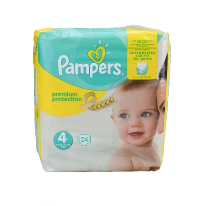 Pampers premium protection diaper size 4 maxi 2017 - large image