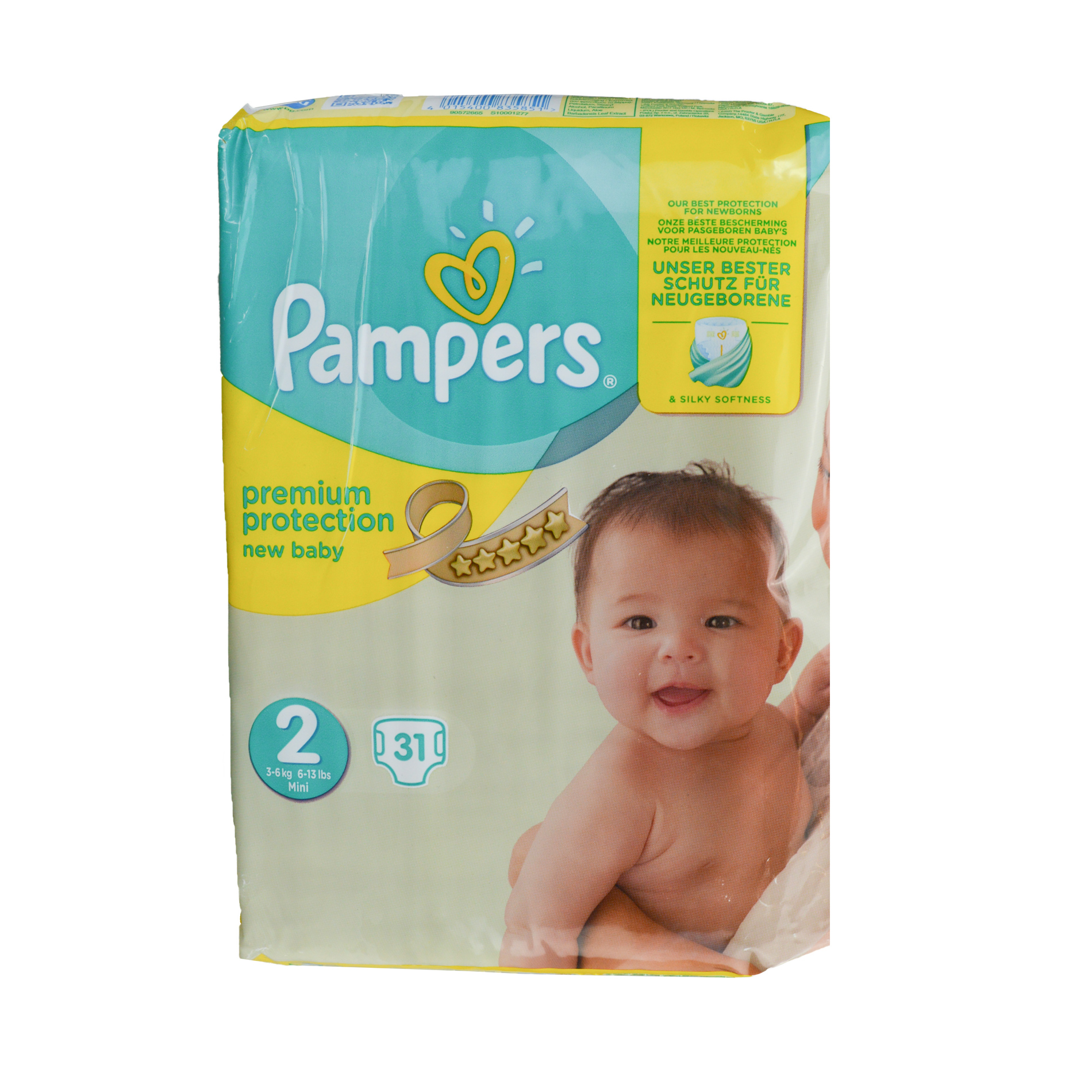pampers premium protection windel gr e 2 mini new baby. Black Bedroom Furniture Sets. Home Design Ideas