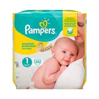 Pampers premium protection diaper size 1 – new baby - Pampers premium protection diaper size 1 – new baby – will offer your newborn the best comfort weighing 2 kg.