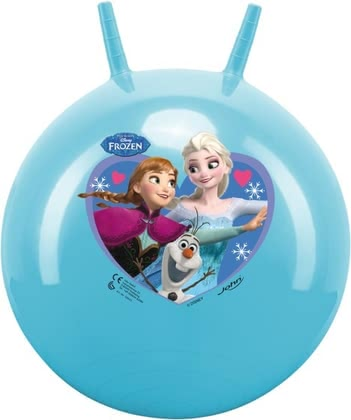 Jumping ball Ice Queen - Jumping ball Ice Queen – The colourful jumping with figures from the movie Frozen will be a lot of fun to your child.