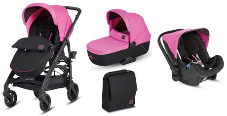 Inglesina Trilogy Travelsystem –Colors Edition- Peggy Pink 2017 - Großbild