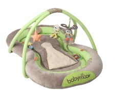 Babymoov play mat - Babymoov play mat – A comfortable mat on which you child is even able to play thanks to the cute toys hanging on it.