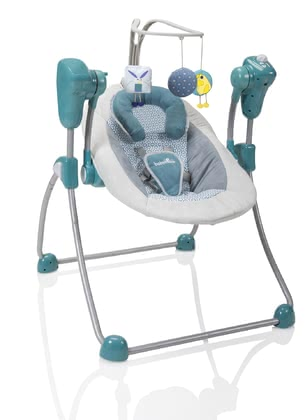 Babymoov Swoon Bubble bouncer petrol 2017 - large image