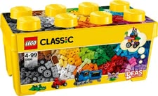 LEGO Classic mid-size brick box - Lego Classic mid-size brick box – Endless fun with the colourful bricks by Lego.
