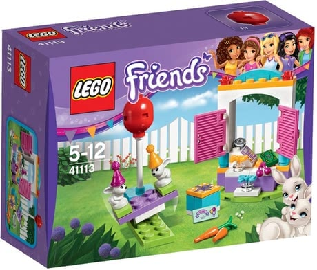 Lego Friends party gift shop - Lego Friends party gift shop – Help the little bunnies to choose the right present.