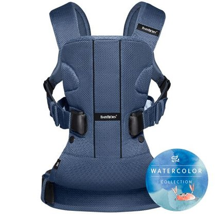 Baby Björn Baby carrier One Air – Watercolor Collection - Gentle colours caracterize the limited Watercolor Collection of the BabyBjörn baby carrier One Air.