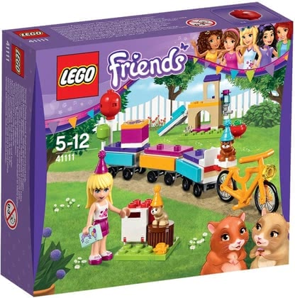 LEGO Friends party train 2016 - large image