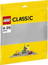 LEGO Classic base plate grey - LEGO Classic grey base plate A useful enrichment for your child's LEGO collection.
