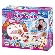 Aquabeads artist's suitcase - Aquabeads artist's suitcase – The extensively equipped suitcase by Aquabeads offers fun for the whole family.