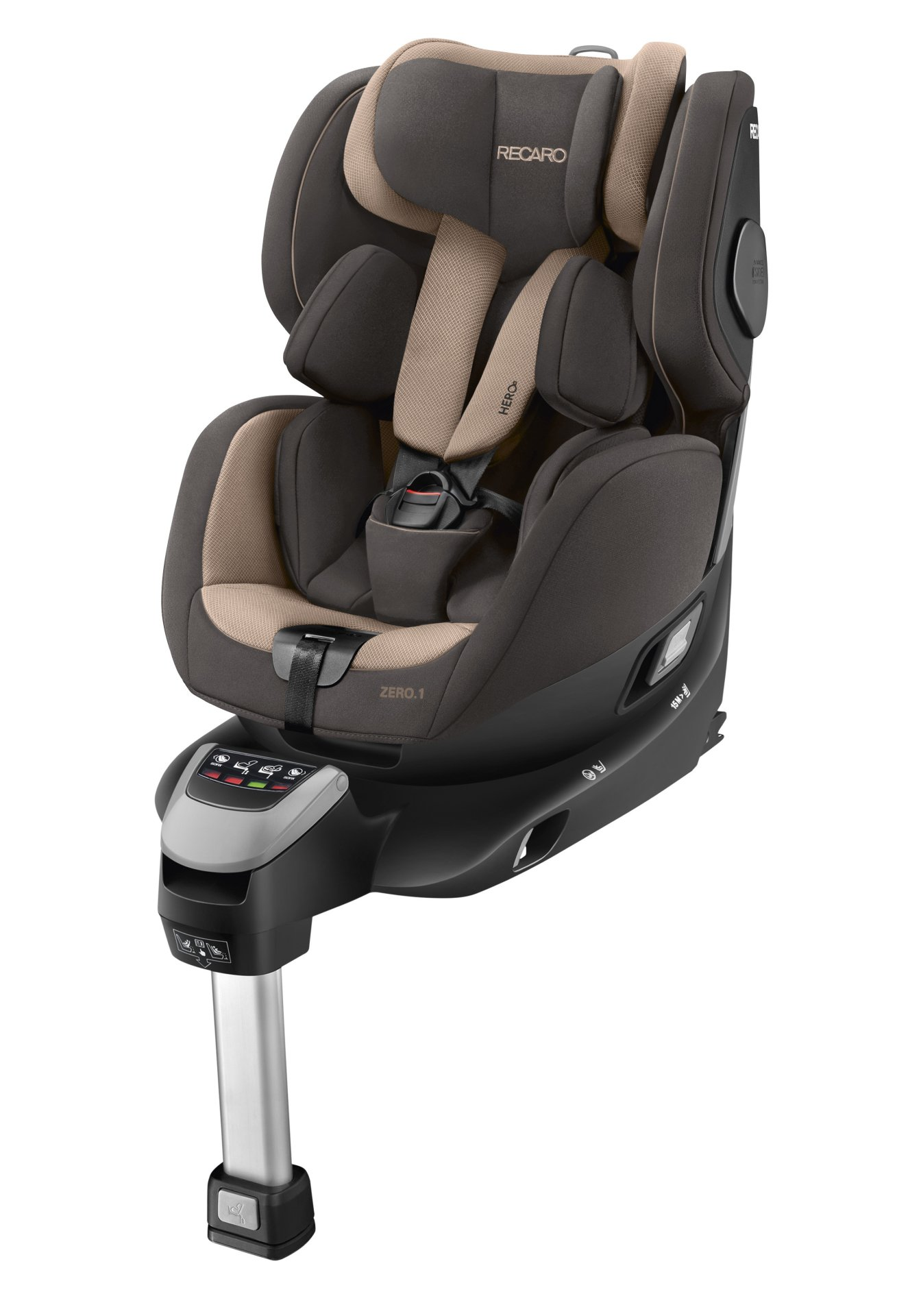 recaro reboard si ge d 39 enfant zero 1 i size inclu isofix base 2018 dakar sand acheter sur. Black Bedroom Furniture Sets. Home Design Ideas