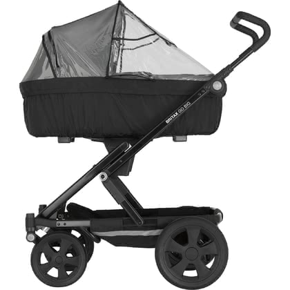 Britax Römer GO rain cover for pram body - Britax Römer GO rain cover for pram body – Suitable for the pram body and protects at any weather.