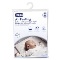 "Chicco pillows Airfeeling for a crib, 0m+ - Chicco pillows Airfeeling for a crib, 0m+ - The soft pillow ""Airfeeling"" by Chicco supports the supine position from birth on."